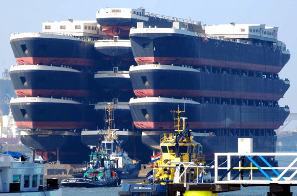 one ship with carrying multiples ships